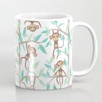 Monkey Jungle Mug