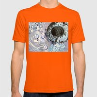 Banality  Mens Fitted Tee Orange SMALL