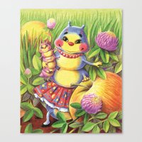 Mama Caterpillar Canvas Print