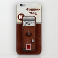 Jugger-Nog iPhone & iPod Skin
