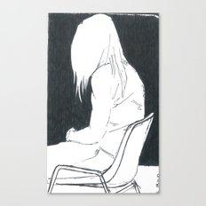 attending Canvas Print