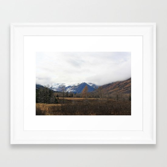 Turnagain Pass Framed Art Print