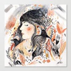 Crows & I Canvas Print
