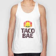 Taco Bae Vintage Print Unisex Tank Top