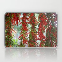 Strung And Hanging Red A… Laptop & iPad Skin