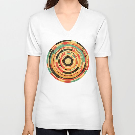 Space Odyssey V-neck T-shirt