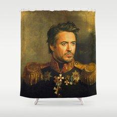 Robert Downey Jr. - replaceface Shower Curtain