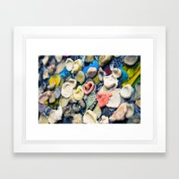 Sticky Love Framed Art Print