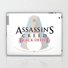 Assassin's Creed Black Office Laptop & iPad Skin