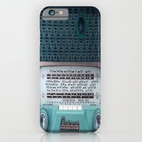iPhone Cases featuring VINTAGE RADIO by 2sweet4words Designs