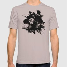 Zack de la Rocha Mens Fitted Tee Cinder SMALL