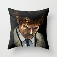 Martyr Throw Pillow