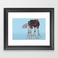 ATATATEAM Framed Art Print