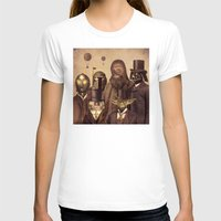 vintage T-shirts featuring Victorian Wars  by Terry Fan