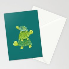 Turtle Stack Stationery Cards