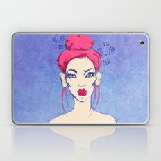 Selfie girl_3 Laptop & iPad Skin
