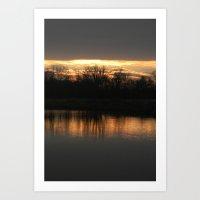 sun...rise? Art Print
