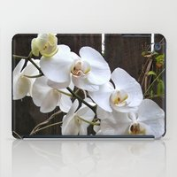 White Orchid iPad Case