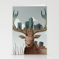 Unwelcome Visitor Stationery Cards