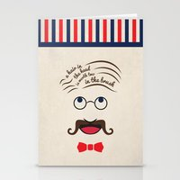 Barbershop Wisdom Stationery Cards