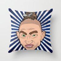 Pepper For President Throw Pillow