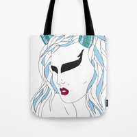 Taurus / 12 Signs Of The… Tote Bag
