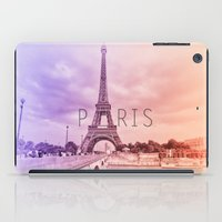a tribute to Paris  iPad Case