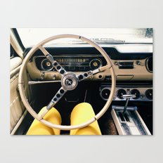 FROM BEHIND THE WHEEL - IV Canvas Print