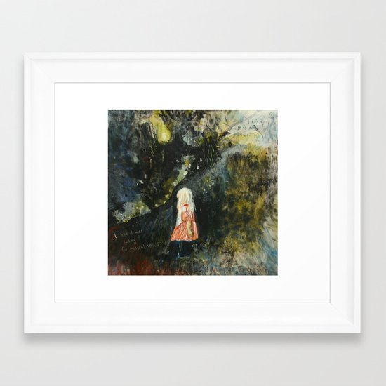searcher Framed Art Print