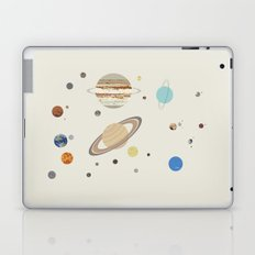 The Solar System - Planets, Moons, and Dwarf Planets Laptop & iPad Skin