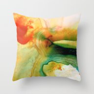 Inner Strength - Abstrac… Throw Pillow