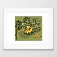 S-Car-Go! Framed Art Print