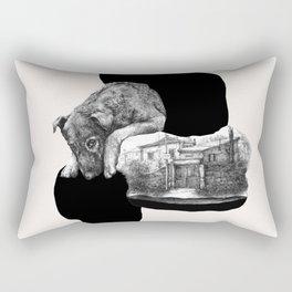 Rectangular Pillow - dog job - franciscomffonseca