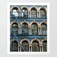 Architecture New York  Art Print