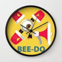 Bee-Do Bee-Do Wall Clock