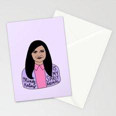 Mindy Kaling is my spirit animal Stationery Cards