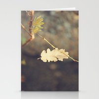 Leaf. Stationery Cards