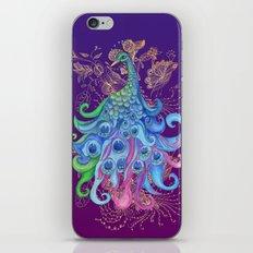 Peaceful Peacock  iPhone & iPod Skin