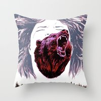 Cry For The Lost Throw Pillow