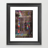 Sequential Serie : The C… Framed Art Print