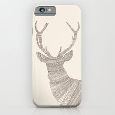 Stag / Deer (On Beige) Slim Case iPhone 6s