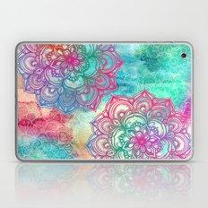 Round & Round The Rainbo… Laptop & iPad Skin