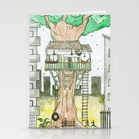 More Green Less Grey Stationery Cards