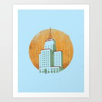 Westward Ho Art Print