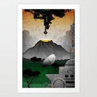 Station//Jungle (5 Of 6) Art Print