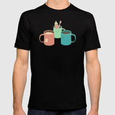Mugs Mens Fitted Tee Black SMALL