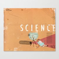 Science- Fun For All Age… Canvas Print