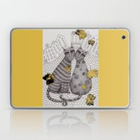 Two Cats Without Hats Laptop & iPad Skin