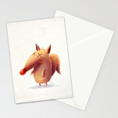 Monday fox Stationery Cards