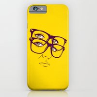 iPhone & iPod Case featuring Y. by CranioDsgn